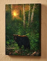 Wrapped Canvas Art Prints with LED Lights | Wild Wings