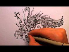 doodling and zentangle