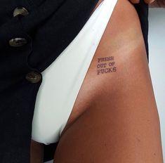 Hidden Tattoos, Small Tattoos, Tattoo On Hip Bone, Vampire Tattoo, Writing Tattoos, Tattoo Set, Most Beautiful Faces, Hip Bones, Matching Tattoos