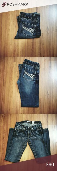Stetson Womens  Jeans Stetson Jeans Bootcut Style Size is 7 long NWOT Stetson  Jeans Boot Cut