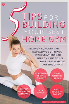 Having a home gym can help keep you on track, with everything you need on hand to get your ideal workout any time of day! Check out this article for our top tips for building the best home gym. #sunnyhealthfitness #homegym #besthomegym Home Gym Equipment, No Equipment Workout, You Fitness, Health Fitness, Dream Gym, Best Home Gym, Injury Prevention, Kettlebell, Strength Training
