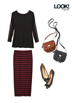 Casual comfort. The perfect outfit for walking to campus or heading to the office this fall