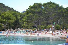 Playa Fomentor Zona Lespigo Mallorca Con Ninos