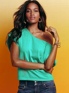 """off the shoulder """"Dream Tee"""" from victorias secret"""