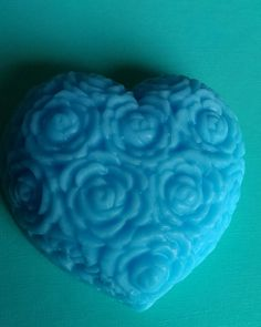 Heart melting soap.