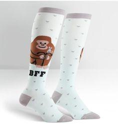 ba9fb26c1014 13 Best Whimsical Women's Knee Highs & Men's Crew Socks images ...