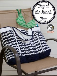 It's a Day at the Beach Bag - Free #Crochet Pattern on Moogly!