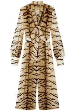Roberto Cavalli jumpsuit, $2,960, ShopBAZAAR.com.