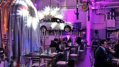 Die Mini Werkstatt wurde für ein Wochenende in eine Real Time Dinner Experience verwandelt.