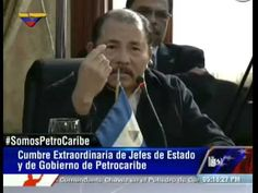 (Vídeo) Presidente Nicaragua, Daniel Ortega Con PetroCaribe, Chávez vive