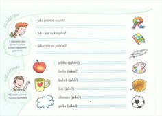 przymiotnik Polish Language, Bullet Journal, Education, Speech Language Therapy, Therapy, Activities, Onderwijs, Learning