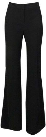 Nine West Women's Solid Skinny Leg Trousers (4, Black)