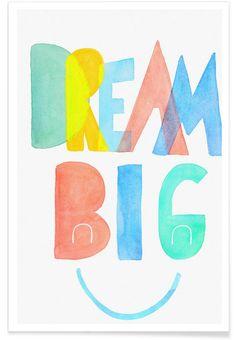 Dream Big as Premium Poster by treechild | JUNIQE UK