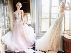 The ombre trend has been making big waves in the wedding world, and there is just something so romantic about this visual effect where tones of color shade into each other. Whether you're looking for a whimsical, bold, or dreamy gown, the pretty ombre hue adds a unique touch to illustrate different styles. Get inspired …
