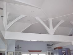 T&G ceiling and beams
