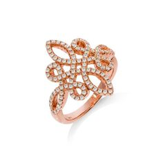 Stylish rose gold plated sterling silver ring set with round cubic zirconia stones Sterling Silver Rings, Gold Rings, Bridal Jewellery, Rose Gold Plates, Gifts For Women, Jewelry Gifts, Wedding Rings, London, Wedding Ring