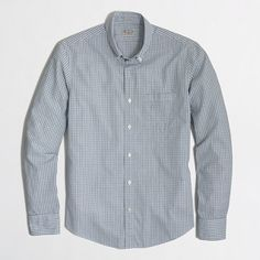 J.Crew Factory - Factory slim washed in two-color mini-tattersall