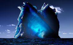 mystery of the iceberg wallpaper desktop Iceberg Images, Creative Pictures, Amazing Pictures, Aang, Avatar The Last Airbender, Science And Nature, National Geographic, Mystery, Fantasy