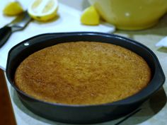 """Almond Flour Cake / I swear to god, this is better than normal cake because it never gets dry. I used the linked """"easy"""" recipe and frosted with coconut oil, honey and vanilla."""