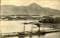 Croaghpatrick, Westport, Co. County Mayo, Old Postcards, Genealogy, Old Photos, Ireland, Old Pictures, Antique Photos, Vintage Photos, Family Tree Diagram