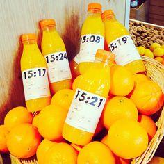 Une nouvelle marque à chaque minutes : c'est ça #LeJusLePlusFrais ! #Intermarché #Fruits #Jus