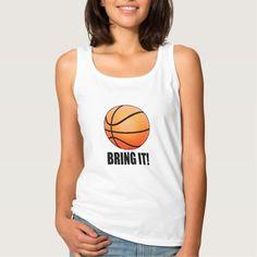 Basketball: Bring It Basic Tank Top Tank Tops