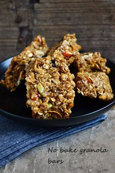 Easy granola bars recipe,Homemade no bake granola bars