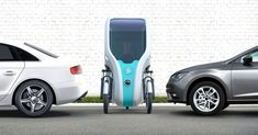 the wello is a compact electric tricycle powered by the sun Electric Tricycle, Electric Scooter, Electric Motor, Electric Cars, Solar Energy, Solar Power, Volvo, Freight Transport, Products
