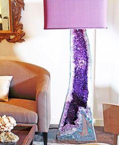 Lavender Lilac hues #amethystlamp @mal_wingostarrjewelry