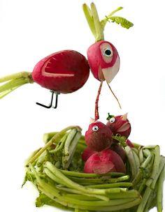radish birds