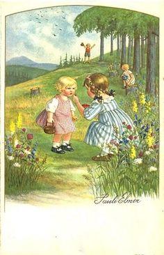 Pauli Ebner (1873-1949) — Old Post Cards (580x900)