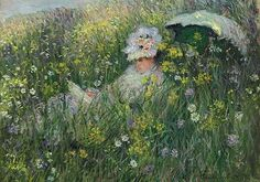 Claude Monet In the Meadow painting is shipped worldwide,including stretched canvas and framed art.This Claude Monet In the Meadow painting is available at custom size. Monet Paintings, Impressionist Paintings, Landscape Paintings, Beach Paintings, Pierre Auguste Renoir, Claude Monet Pinturas, Artist Monet, Tableaux Vivants, Camille Pissarro