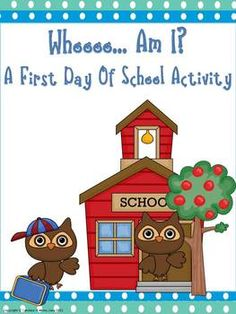 A great first day of school activity, which allow you to get to know your kiddos right away. Also, a great tool for the whole school year. Ideas fo...