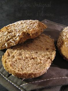 Integral Bread with Oat Bran Vegan Breakfast Muffins, Diabetic Breakfast, Back Pain Remedies, Diabetic Recipes, Cooking Time, Coco, Tapas, Good Food, Food Porn