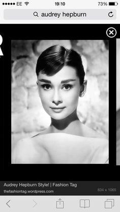 Audrey Hepburn how I love thee
