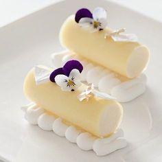Lemon Mousse, Lemon Mint Gelee, White Meringue. :white_check_mark: By - /peckale/ :white_check_mark: #ChefsOfInstagram #Chefheart