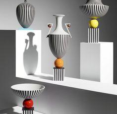 Klare Form, kein Schnickschnack und postmoderne Elemente. Lee Broom entwarf die Serie für das englische Traditionsunternehmen Wedgwood