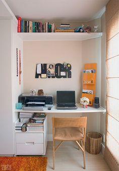 Quitinete alugada de 22 m² para morar e trabalhar - Casa