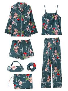 M/&s collection Dentelle Imprimé Floral Caraco Set Taille UK 10