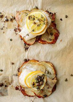 Recipe: Lemon-Herb Fish Fillets on Crispy Potato Rafts — Weeknight Dinner Recipes from The Kitchn | The Kitchn
