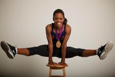 Gabby Douglas  U.S. gymnast Gabby Douglas became the first African-American woman to win the all-around gymnastics gold on August 2. The 16-year-old is also the only U.S. woman to have ever won gold in both the team and individual competitions.