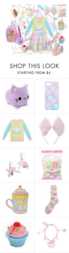 """Candy pop party~♪"" by sweetpasteldream ❤ liked on Polyvore featuring мода и Cotton Candy"