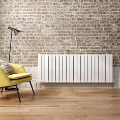 600x1596mm Gloss White Single Flat Panel Horizontal Radiator Horizontal Radiators, Home Appliances, Flat, Kitchen, House Appliances, Bass, Cooking, Kitchens, Appliances