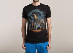 """Evil Will Burn"" - Threadless.com - Best t-shirts in the world"
