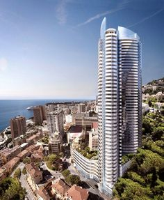Monacos Odeon Tower, home to perhaps the worlds most expensive penthouse