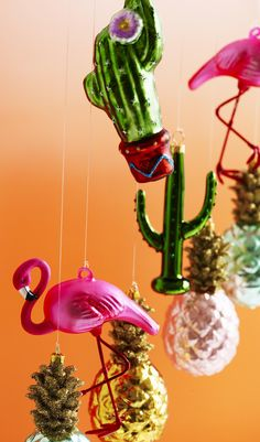 Introducing a sense of the tropics, this Cactus In A Pot Decoration brings a flair of the outdoors in, even if it is winter outside.