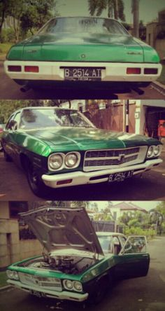 Holden Classic Car - Go Green Muscle Style