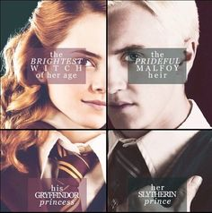 Find images and videos about harry potter, hermione granger and draco malfoy on We Heart It - the app to get lost in what you love. Harry Potter Hermione, Hermione Granger, Harry Potter Half Blood, Harry Potter Ships, Harry Potter Spells, Harry Potter Jokes, Harry Potter Universal, Harry Potter Fandom, Ron Weasley