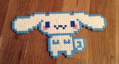 Cinnamaroll Sanrio hama beads by Kay Gibson