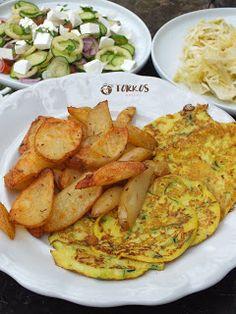 Ízőrző: Cukkinis lapcsánka Potato Salad, Paleo, Potatoes, Meals, Chicken, Healthy, Ethnic Recipes, Food, Fitness